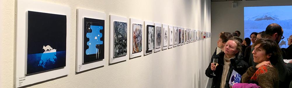 foto de la exposición DesÀrtic en Barcelona