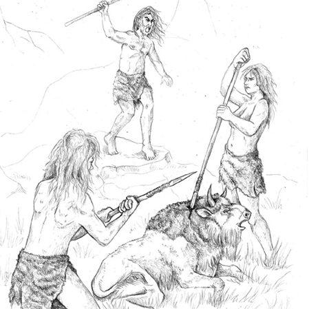 il·lustració prehistòria