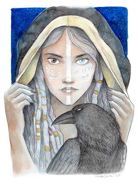 Bruixa il·lustració