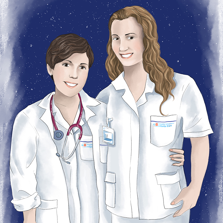 Retrat infermeres